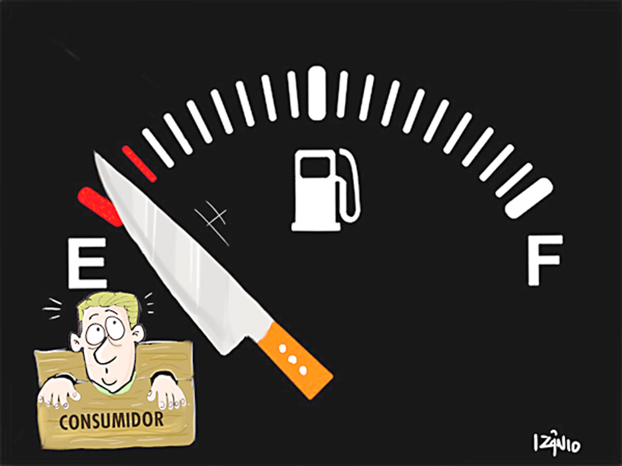 Resultado de imagem para gasolina alta