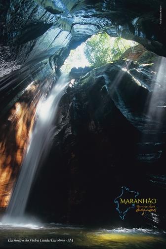 Cachoeira de Pedra Caída - Carolina, MA