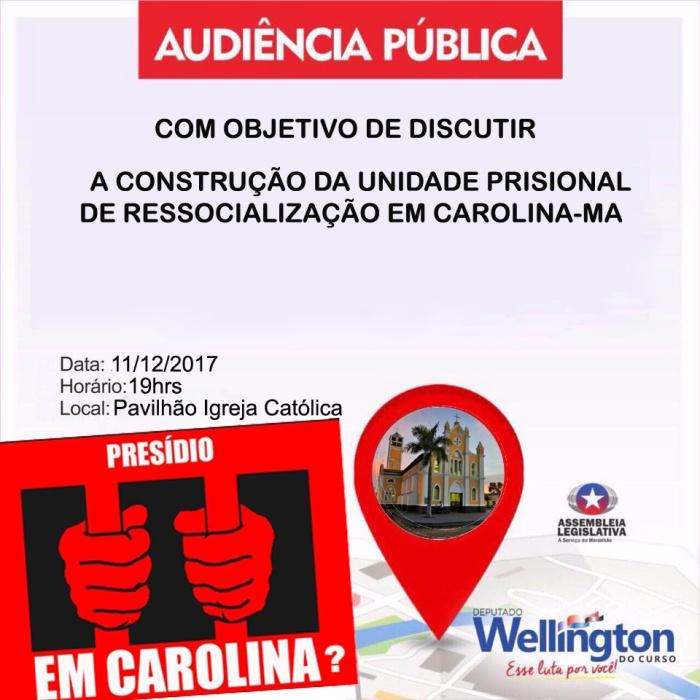 convite audiencia pública Wellingtona do Curso cópia